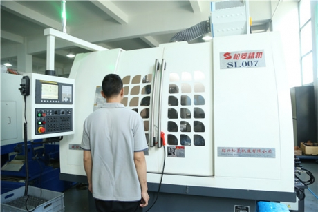 CNC Rotor Slot Grinding Machine